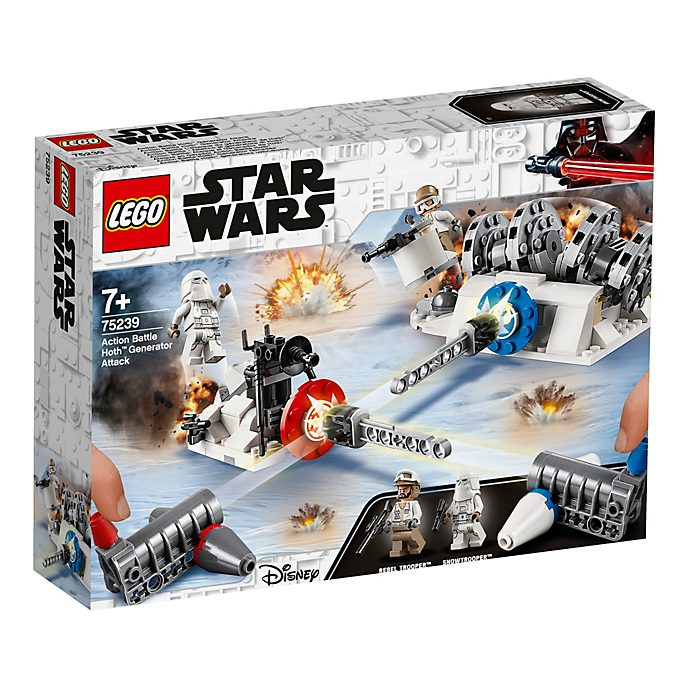 LEGO Star Wars Action Battle Hoth Generator Attack Set 75239