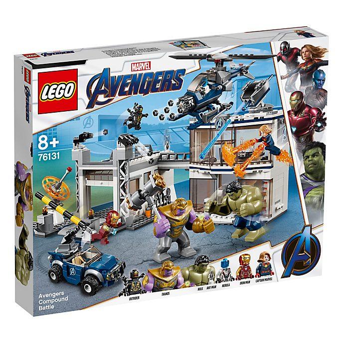 Batalla en base Los Vengadores, Vengadores: Endgame, LEGO (set 76131)