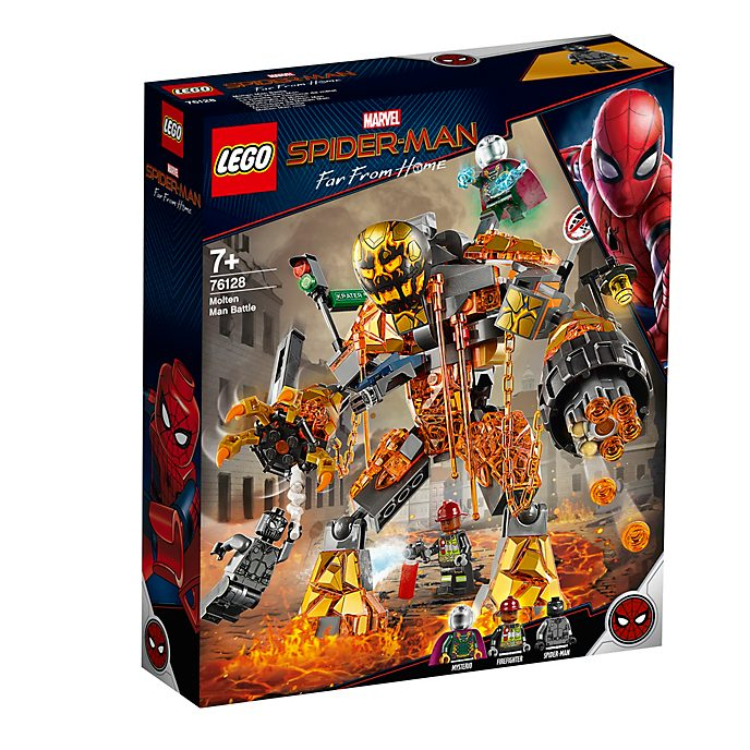 LEGO Molten Man Battle Set 76128, Spider-Man: Far From Home