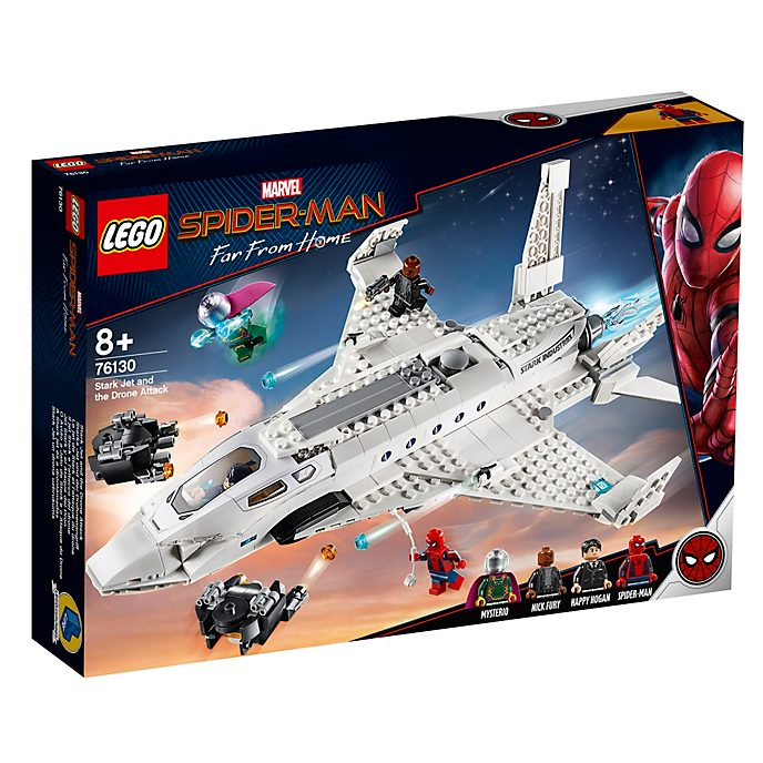 LEGO Stark Jet and the Drone Attack Set 76130, Spider-Man: Far From Home