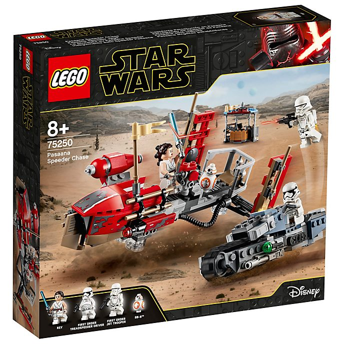 Set 75250 Inseguimento speeder Pasaana, Star Wars LEGO