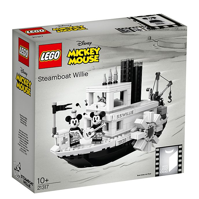 LEGO Ideas Mickey Mouse Steamboat Willie Set 21317