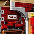 Tren y estación, Disney, LEGO (set 71044)
