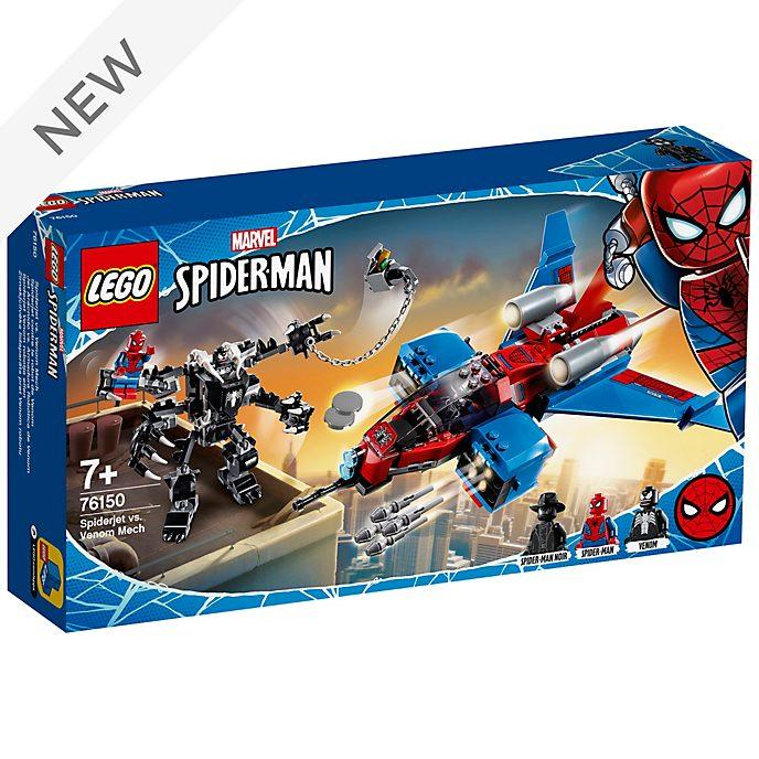 LEGO Marvel Spider-Man Spider-Jet vs. Venom Mech Set 76150