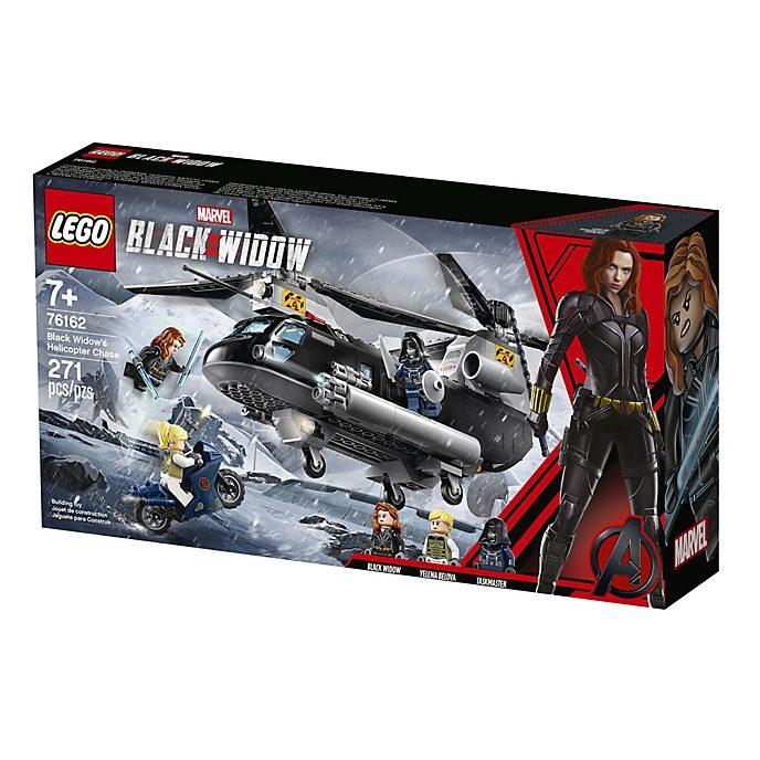 LEGO persecución en helicóptero, Viuda Negra (set 76162)