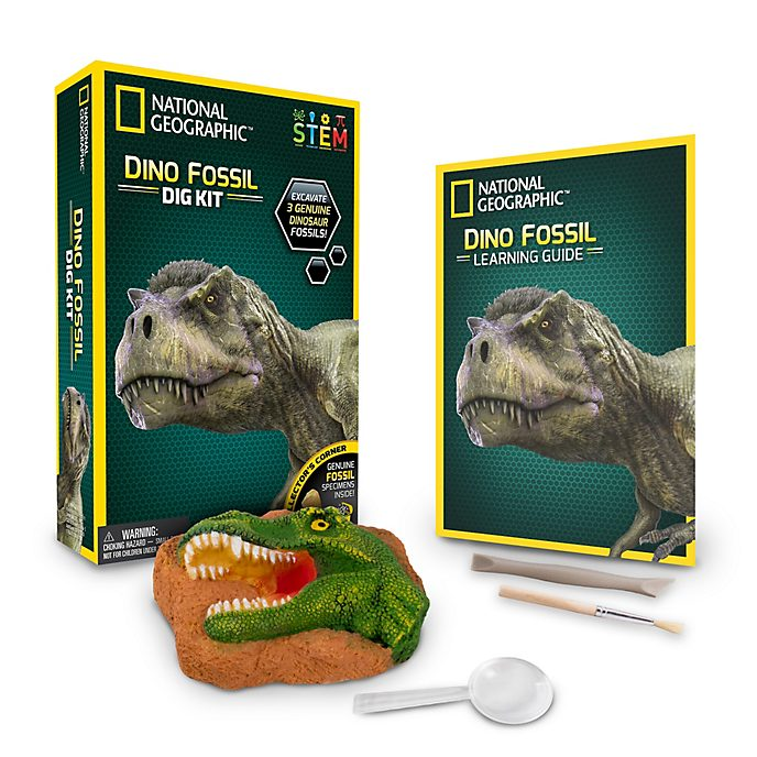 Bandai National Geographic Dinosaur Fossil Dig Kit