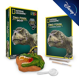 Set de arqueología con fósiles de dinosaurios, National Geographic, Bandai
