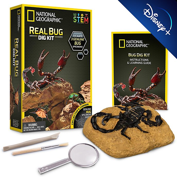 Bandai National Geographic Bug Dig Kit