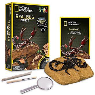 Kit di scavo con invertebrati National Geographic Bandai