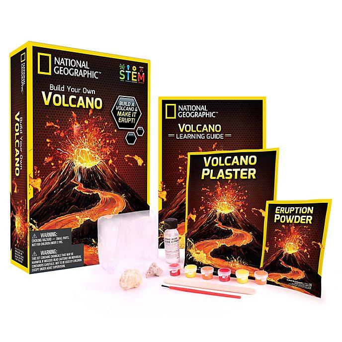 Set científico para volcanes National Geographic, Bandai