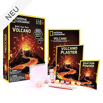 Bandai - National Geographic - Entdeckerset - Bau und Ausbruch eines Vulkans