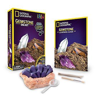 Set de excavación sobre gemas, National Geographic, Bandai