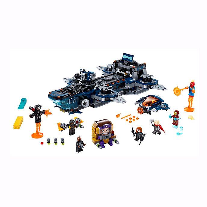 LEGO Marvel 76153 L'héliporteur des Avengers