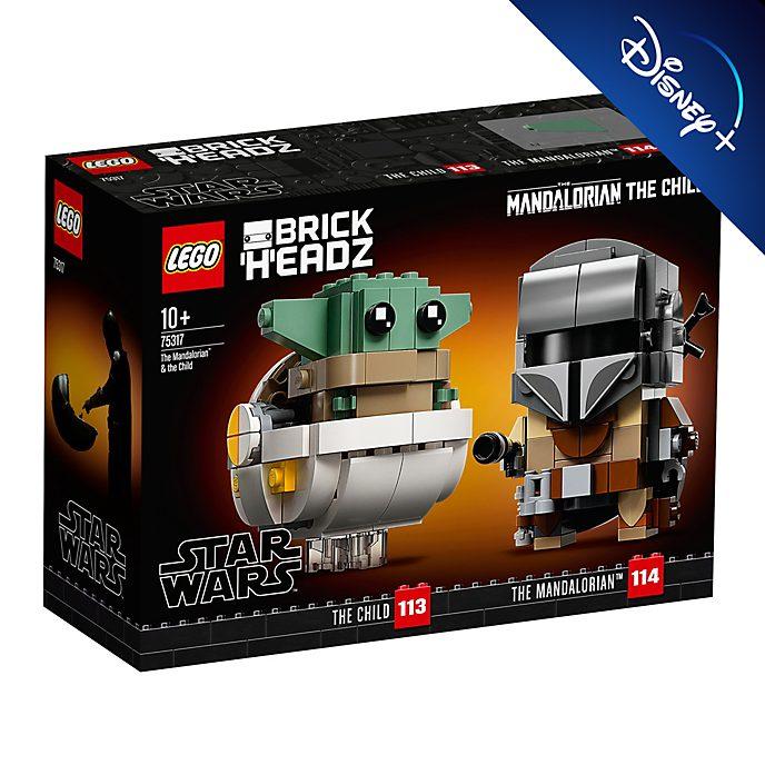 LEGO figuras el Mandaloriano y el Niño (set 75317)