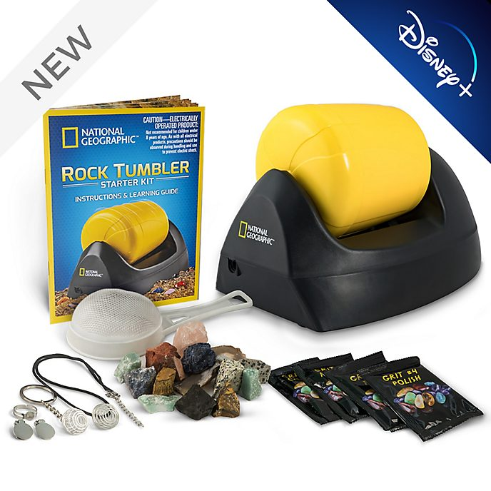 Bandai National Geographic Rock Tumbler Starter Kit