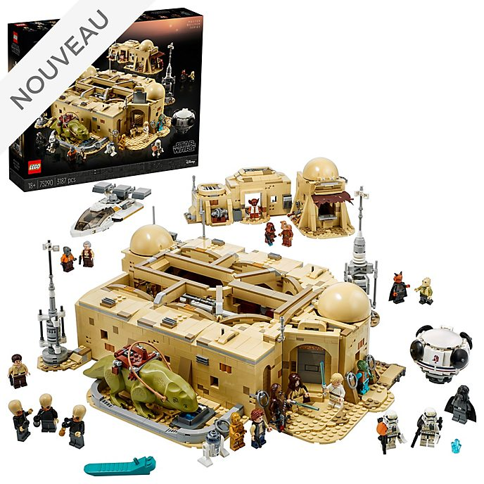 Ensemble LEGO 75290 La Cantine de Mos Eisley Star Wars