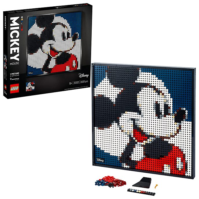 LEGO Art Mickey and Minnie Mouse Set 31202