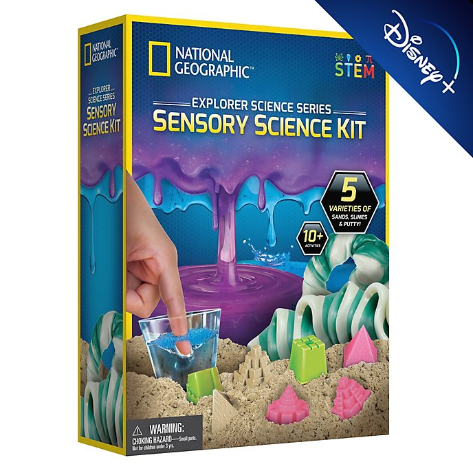 Bandai National Geographic Explorer Sensory Science Kit