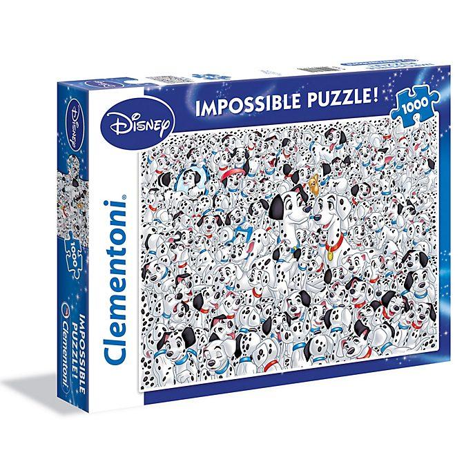 Puzzle 1000 pezzi Impossible La Carica dei 101 Clementoni