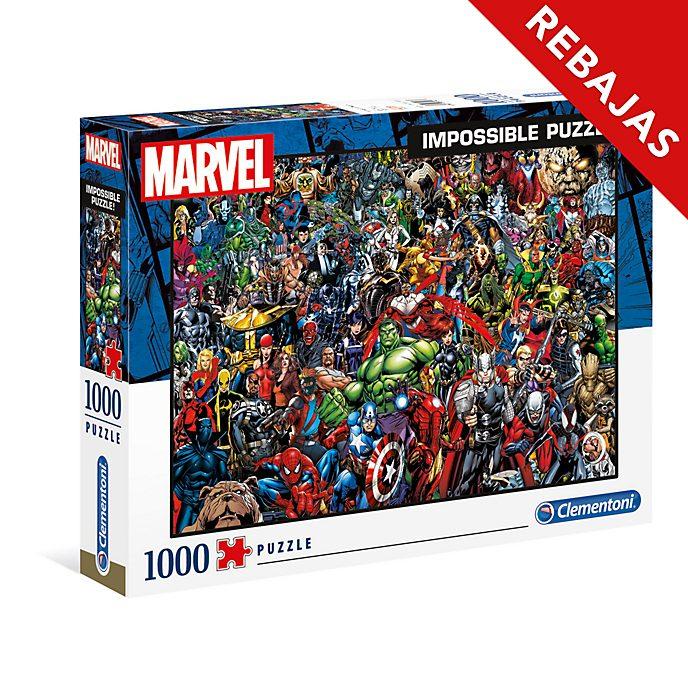 Clementoni puzle imposible Marvel (1.000 piezas)