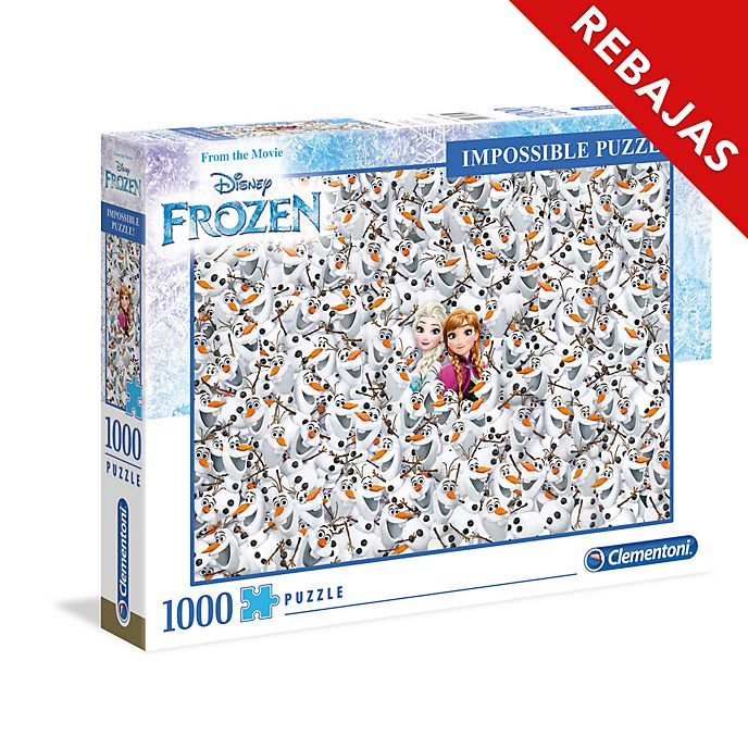 Clementoni puzle imposible Frozen(1.000 piezas)