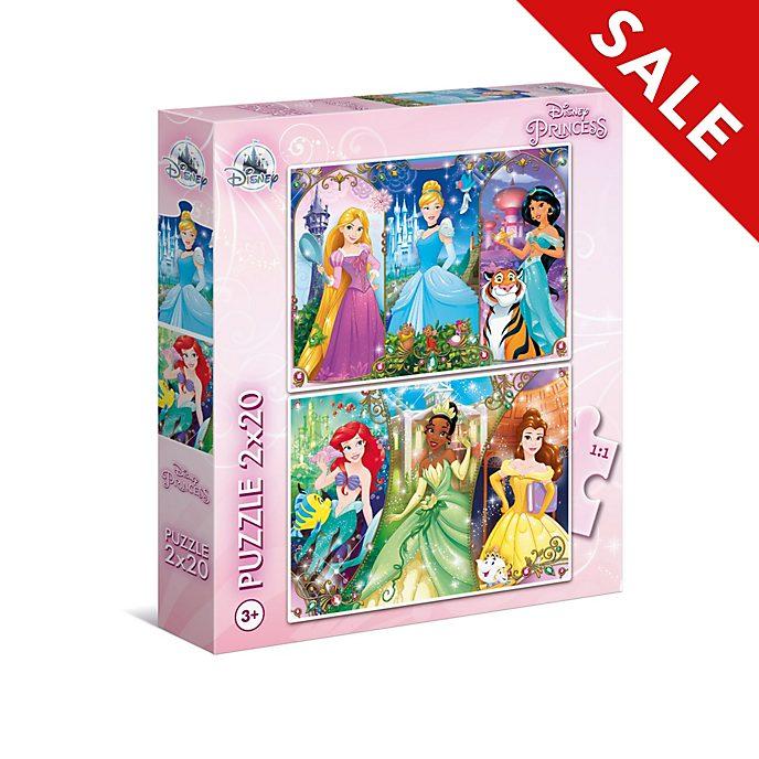 Clementoni - Disney Prinzessin - Set mit 2 Puzzles