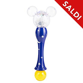Bacchetta per bolle di sapone luminosa Apprendista stregone Disney Store