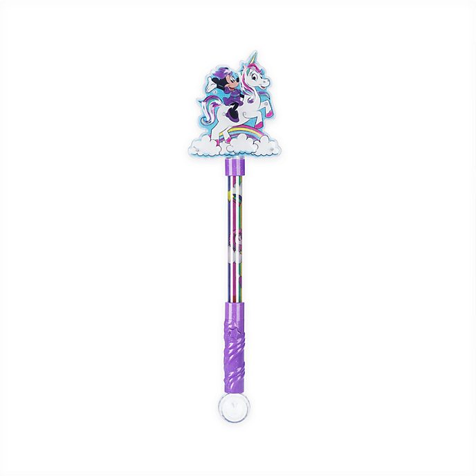 Disney Store Baguette magique lumineuse licorne Minnie