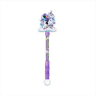 Varita con luz unicornio Minnie Mouse, Disney Store