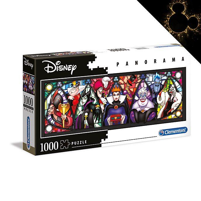 Clementoni Puzzle panoramique 1000pièces Disney Villains