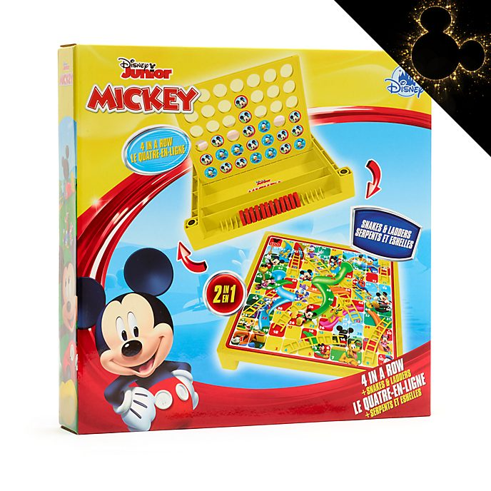Disney Store Mickey Mouse 2-in-1 Game Set