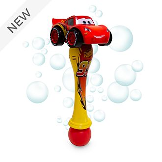 Disney Store Lightning McQueen Light-Up Bubble Wand