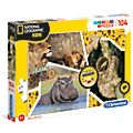 Clementoni National Geographic Wildlife Adventurer 104 Piece Puzzle