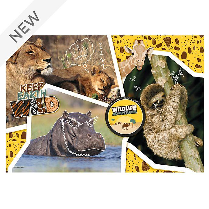 Clementoni National Geographic Wildlife Adventurer 104 Piece Puzzle