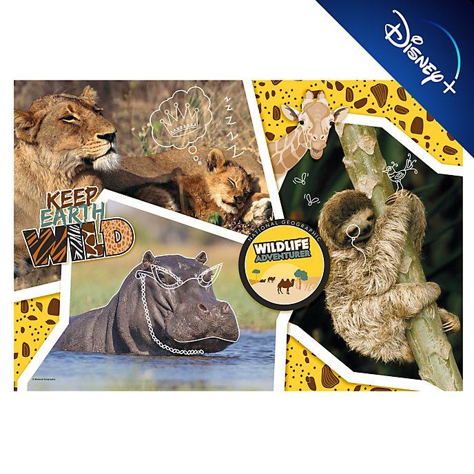 Clementoni Puzzle National Geographic Wildlife Adventurer 104pièces