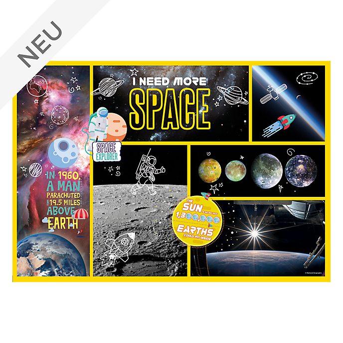 Clementoni - National Geographic - Space Explorer - Puzzle mit 180 Teilen