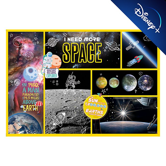 Clementoni National Geographic Space Explorer 180 Piece Puzzle
