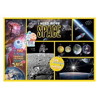 Clementoni puzle explorador espacial, National Geographic (180piezas)
