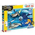 Clementoni National Geographic Ocean Explorer 104 Piece Puzzle