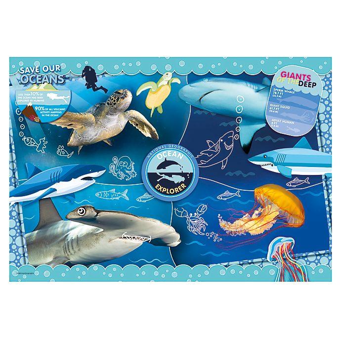 Clementoni - National Geographic - Ocean Explorer - Puzzle mit 104 Teilen