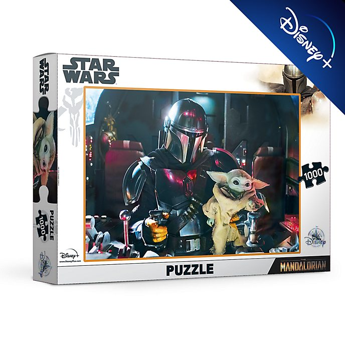Puzzle 1000 pezzi Star Wars: The Mandalorian Disney Store