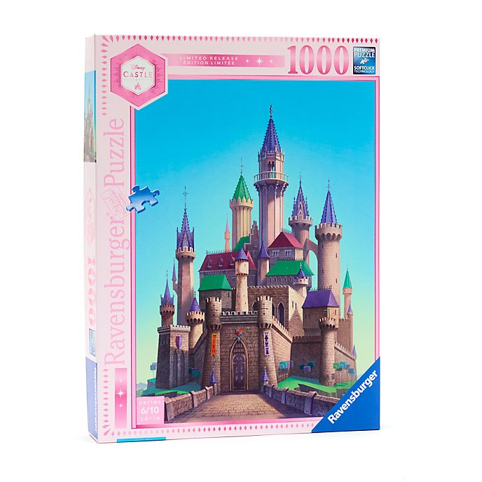 Ravensburger Puzzle 1000pièces Le château de La Belle Au Bois Dormant, Disney Castle Collection