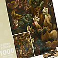 Walt Disney World Disney Cats and Dogs Double-Sided 1000 Piece Puzzle