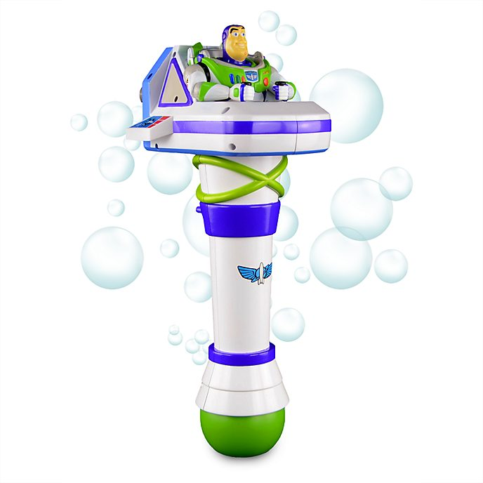 Disney Store Buzz Lightyear Light-Up Bubble Wand, Toy Story