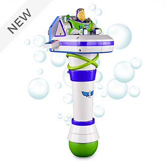 Disney Store Buzz Lightyear Light-Up Bubble Wand, Toy Story