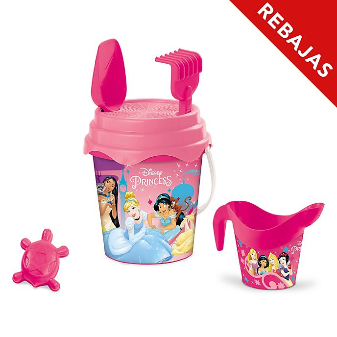 Set de cubo para playa, Princesas Disney
