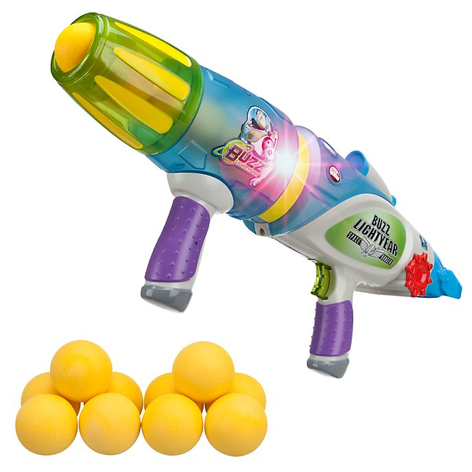 Disney Store Buzz Lightyear Glow-In-The-Dark Blaster