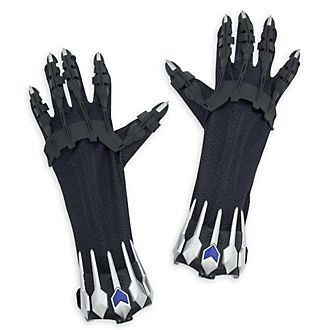 Disney Store Black Panther Gloves With Battle Sounds