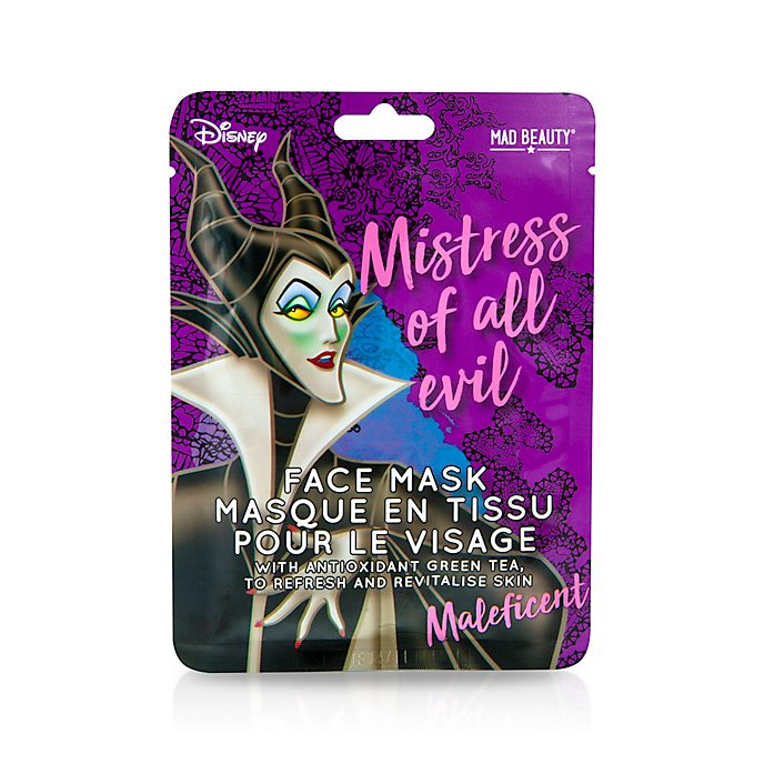 Maschera viso in foglio Malefica Mad Beauty
