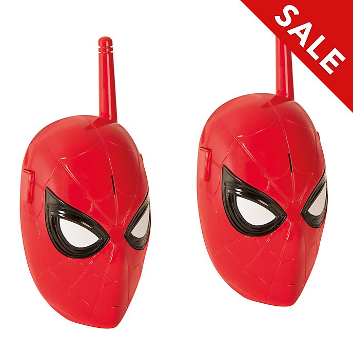 Disney Store Spider-Man Walkie Talkies